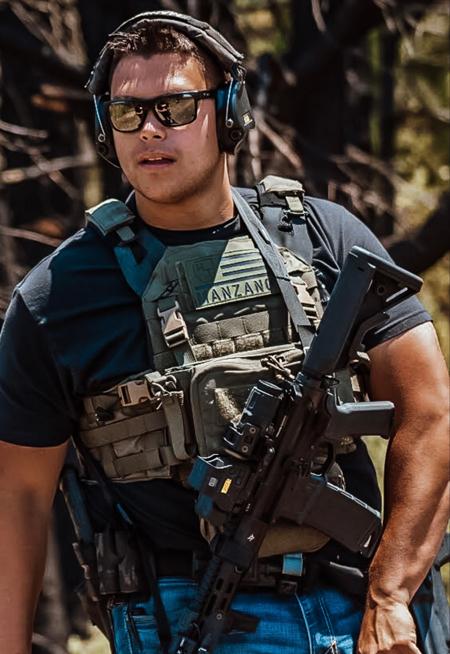 Tactical Advisor Kyle Manzano